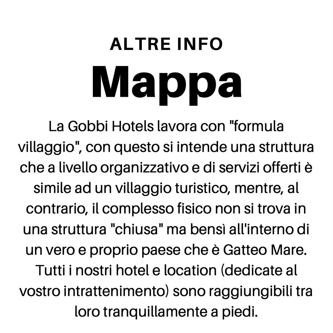 Mappa Gobbi Hotels Gatteo Mare Formula Villaggio