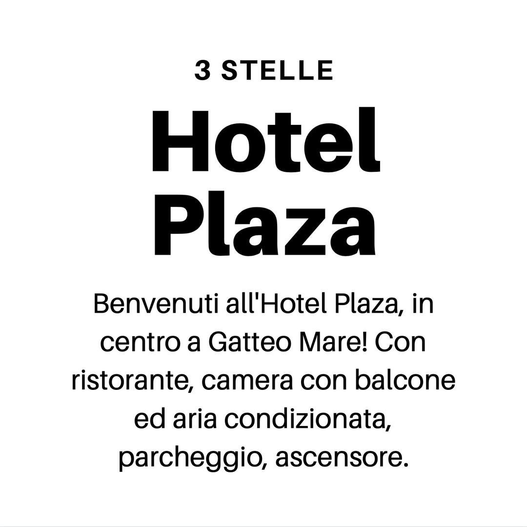 Hotel Plaza Gobbi Hotels Gatteo Mare