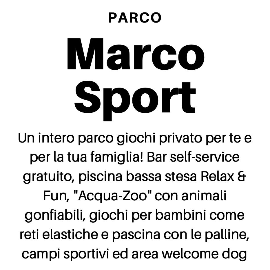Parco Marco Sport Gobbi Hotels Gatteo Ma