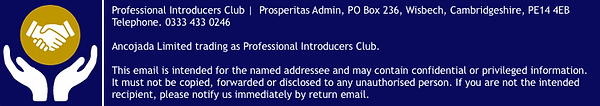 Professional Introducers Club - Email Si