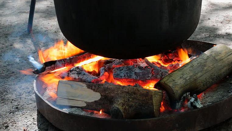 Hejia Charcoal Fire Boiling