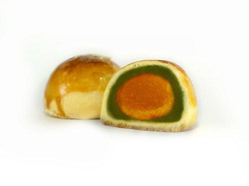 Green Tea Lotus & Yolk | 绿茶莲蓉&咸蛋黄 (6 Pcs | 6粒装)