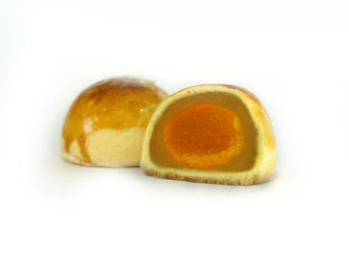 Pure Lotus & Yolk | 纯莲蓉&咸蛋黄 (6 Pcs | 6粒装)