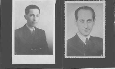 Left: Dad. Right: Zoltán Kubinyi