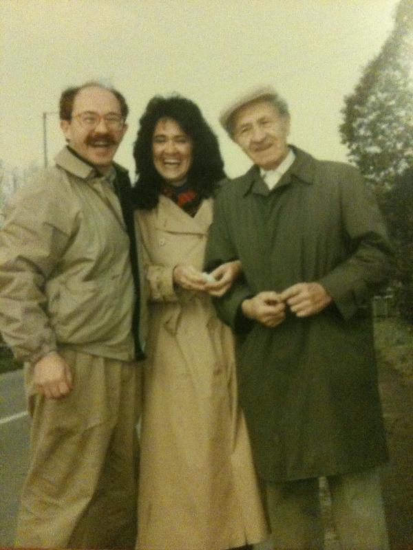 Henry, Marta, and Dad, Tokaj, 1992