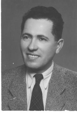 Morton (Miksa) Fuchs Hungary circa 1946