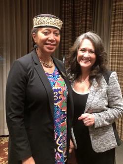 Ambassador Attallah Shabazz and Marta