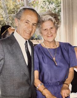 Mom and Dad (Ilona and Morton Fuchs)