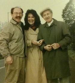 Henry, Marta, Dad, Hungary 1991