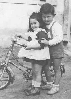 Henry and Marta, Tokaj, 1953
