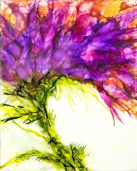 Title:  Purple Nectar