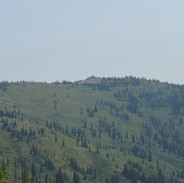 Coolwater Ridge, with its fire lookout