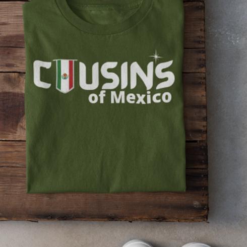 Cousin's of Mexico Men's T-Shirt
