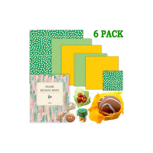 ihem Beeswax Wrap, Assorted 6 Pack