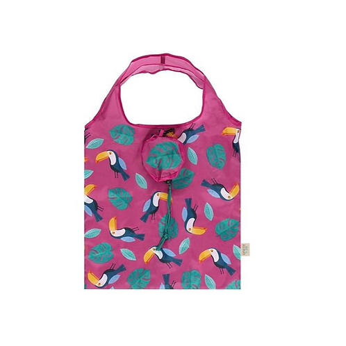 Toucan Foldable Shopping Bag