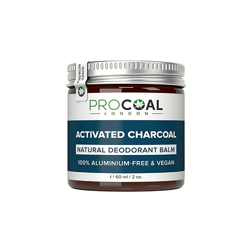 Natural Deodorant with Activated Charcoal