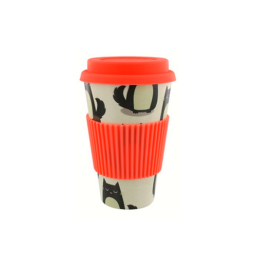 Biodegradable Bamboo Travel Mug