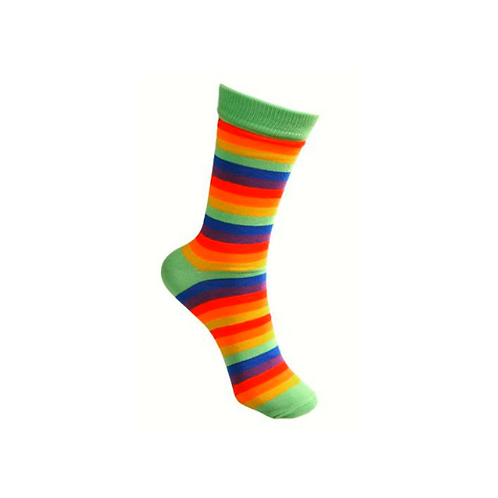 Rainbow Stripe Bamboo Socks