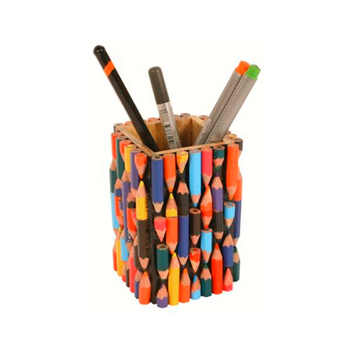 Pen Pot Made With Recycled Crayons