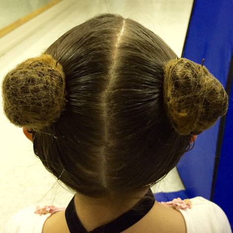 Lamb Hair from the top