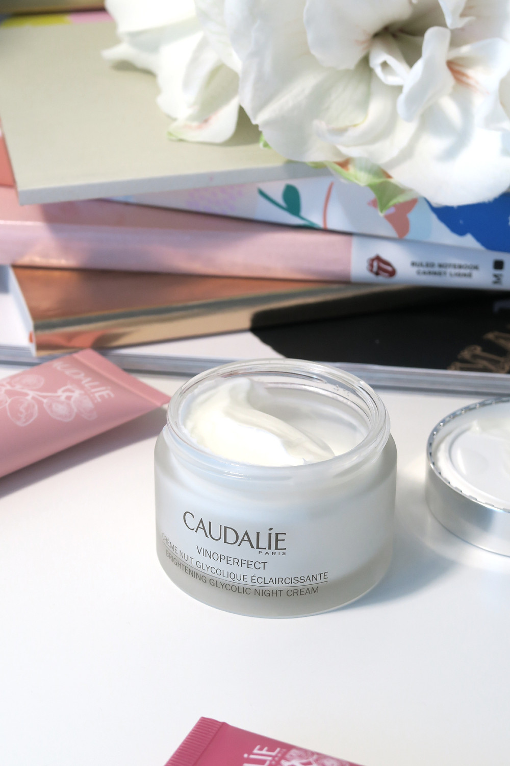 caudalie brightening glycolic night cream review