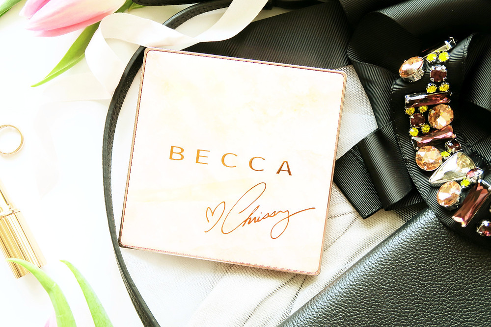 becca chrissy face palette review