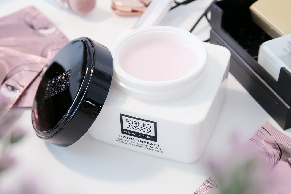 erno laszlo hydra-therapy memory sleep mask review