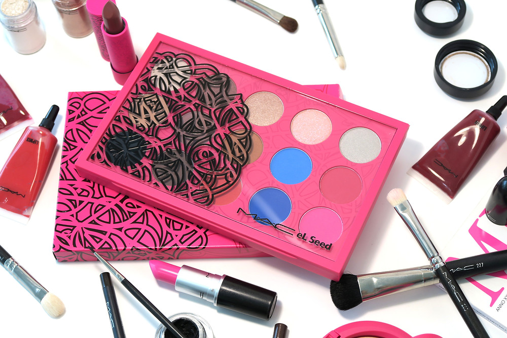 mac cosmetics el seed collection review