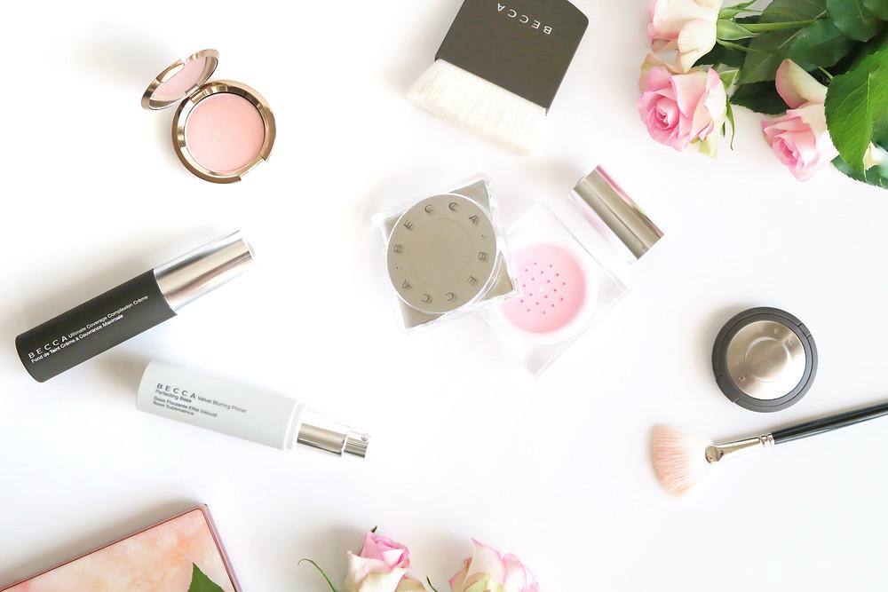 becca cosmetics ultimate coverage foundationvelvet blurring primer soft light blurring powder review