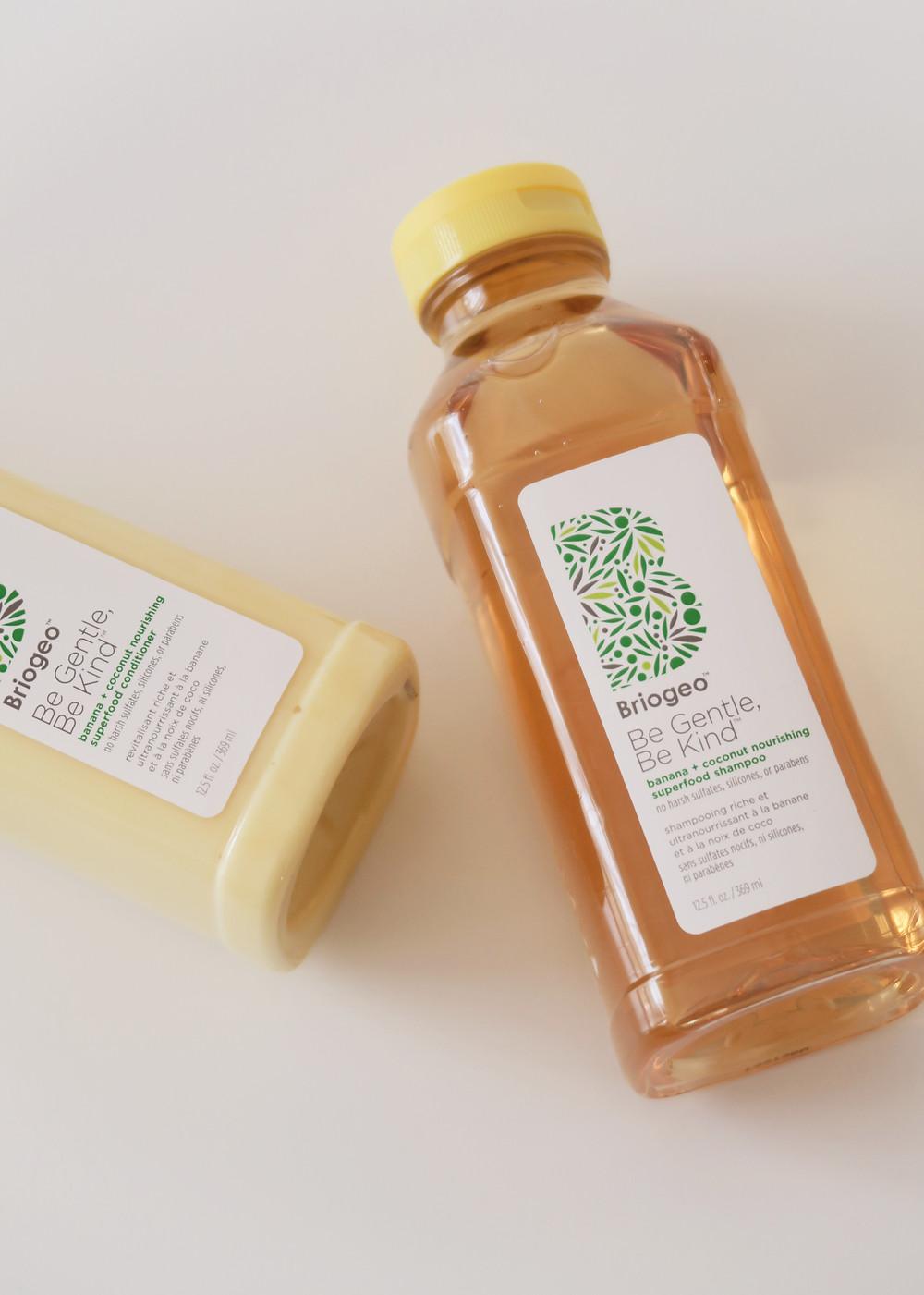 briogeo be gentle be kind banana coconut shampoo conditioner review