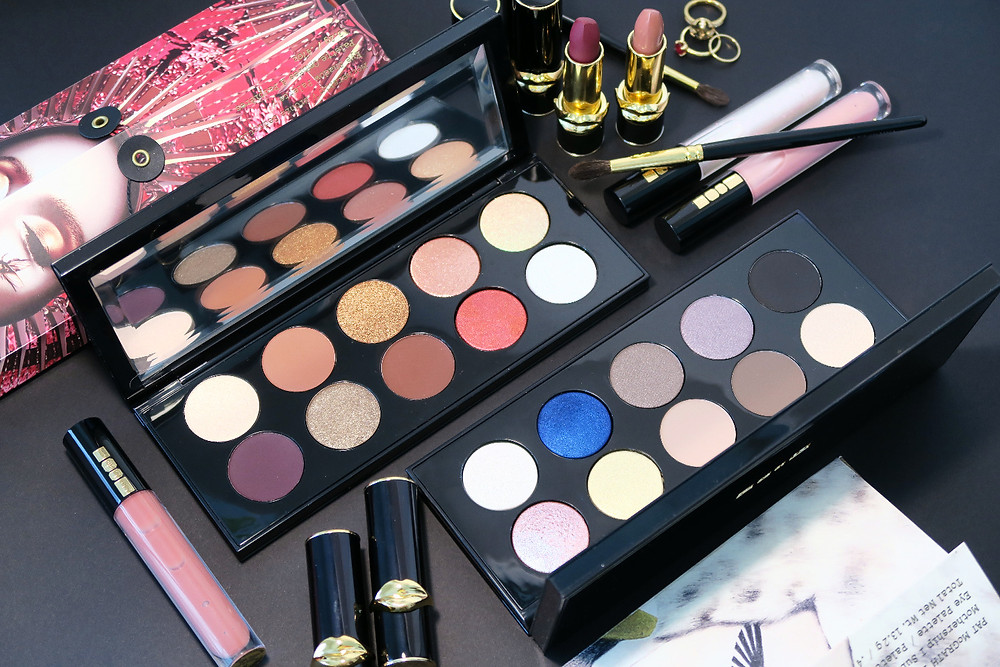 pat mcgrath mothership eyeshadow palettes review