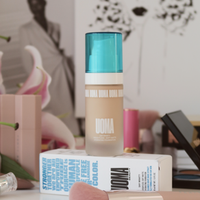 UOMA Beauty Say What?! Foundation, Review