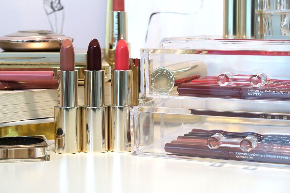becca cosmetics ultimate lipstick love collection review
