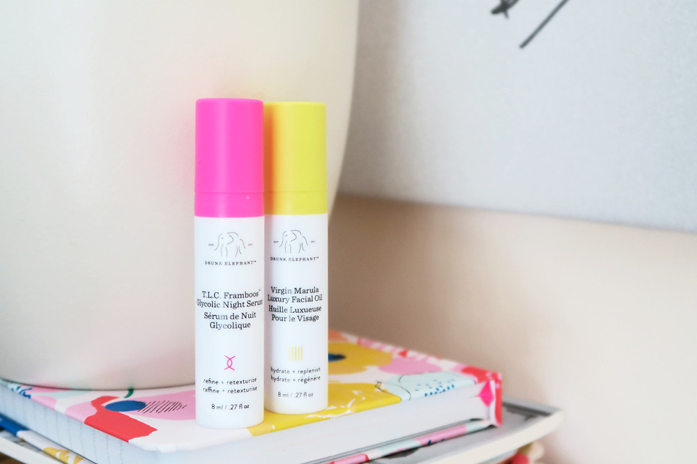 drunk elephant night bright duo review