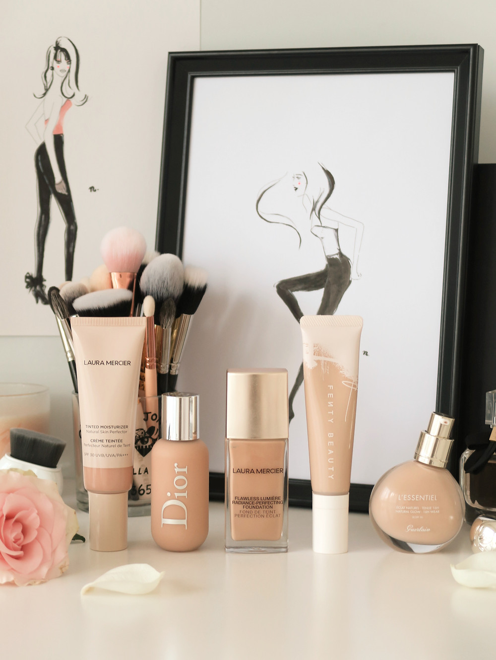 best foundations for dry skin review