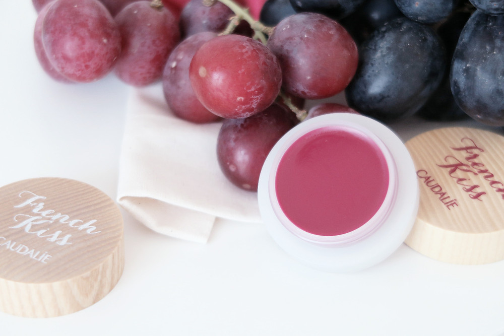 caudalie french kiss tinted lip balm review