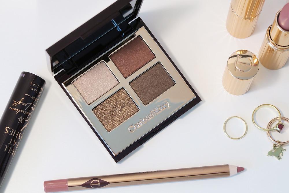 charlotte tilbury luxury eyeshadow palette review