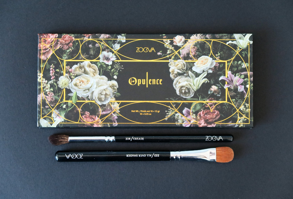zoeva opulence eyeshadow palette review