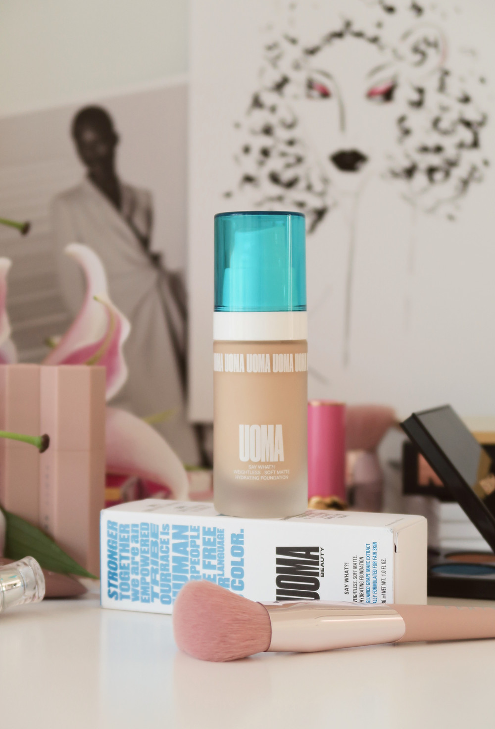 uoma beauty say what?! foundation review