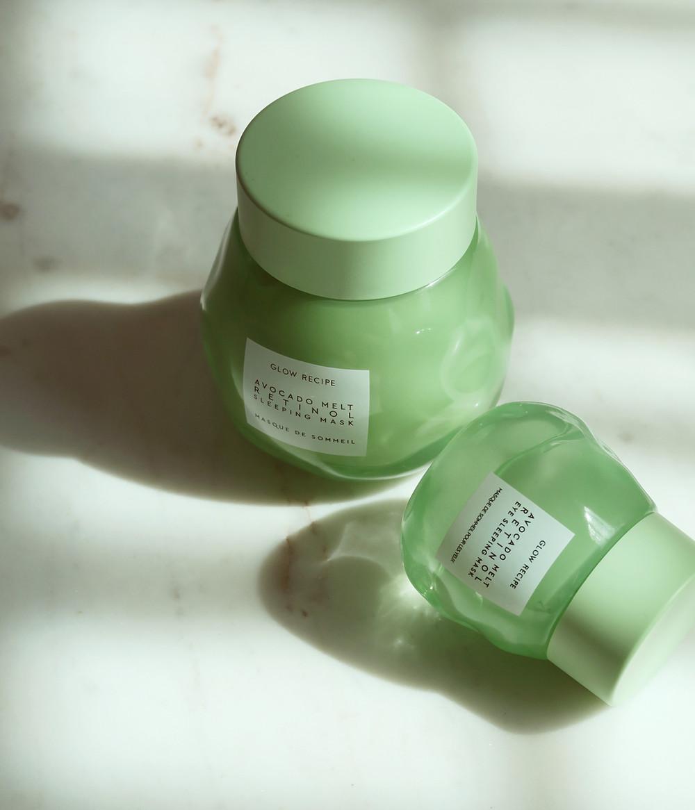 Glow Recipe Avocado Melt Retinol Sleeping Mask Review