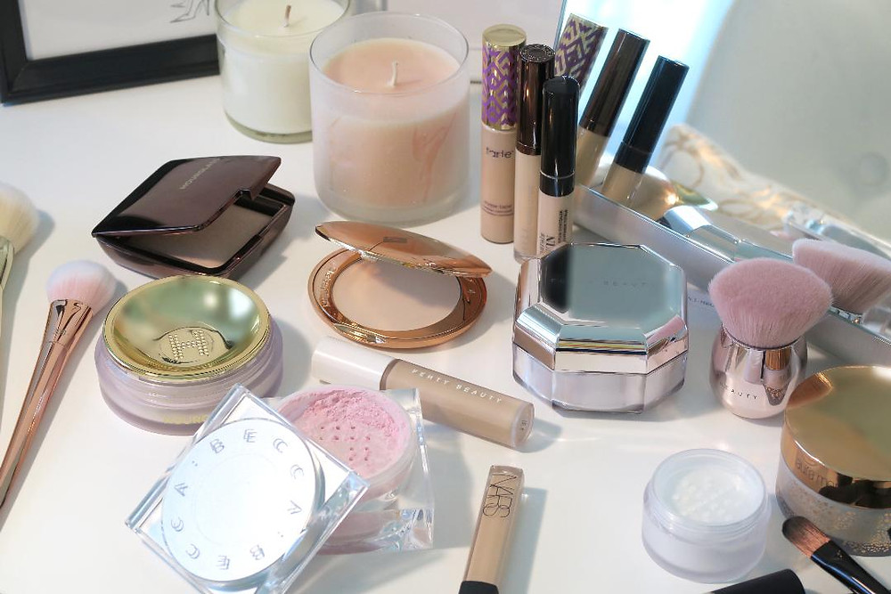 bestselling high-end powders and concealers