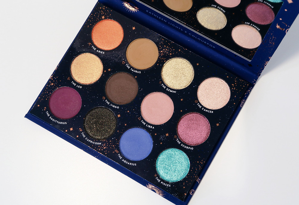 colourpop the zodiac eyeshadow palette review
