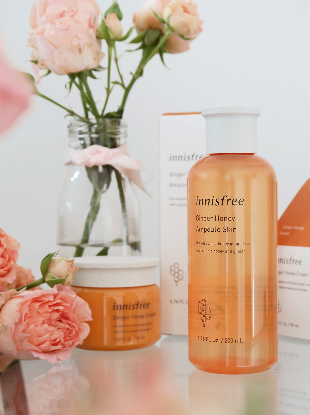 innisfree ginger honey ampoule skin toner review