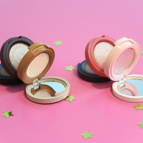 Kaja Beauty Bento Bouncy Shimmer Eyeshadow Trio, Review