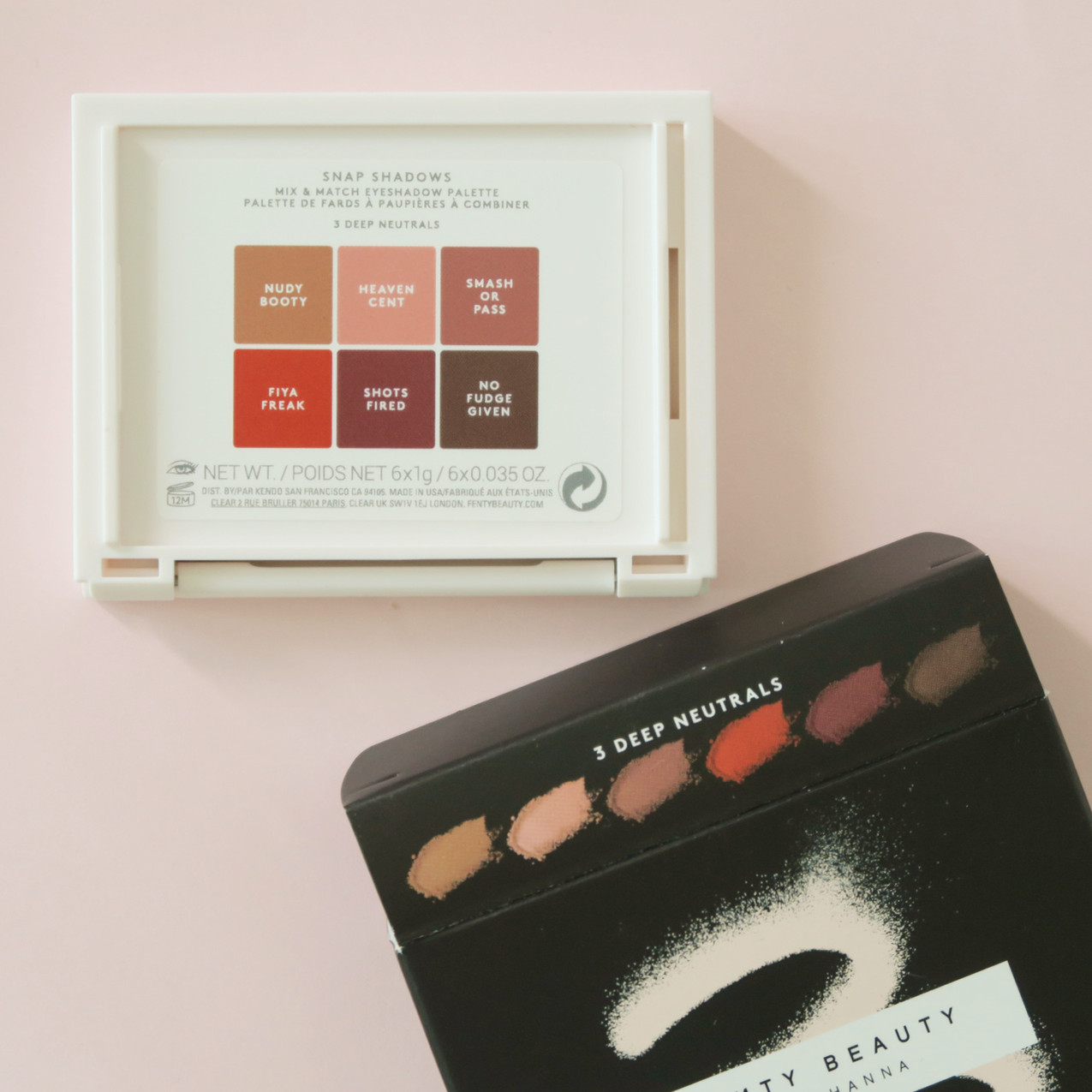 Fenty Beauty Snap Shadows Review