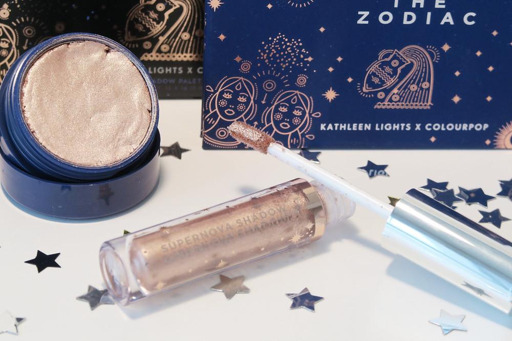 colourpop the zodiac collection review