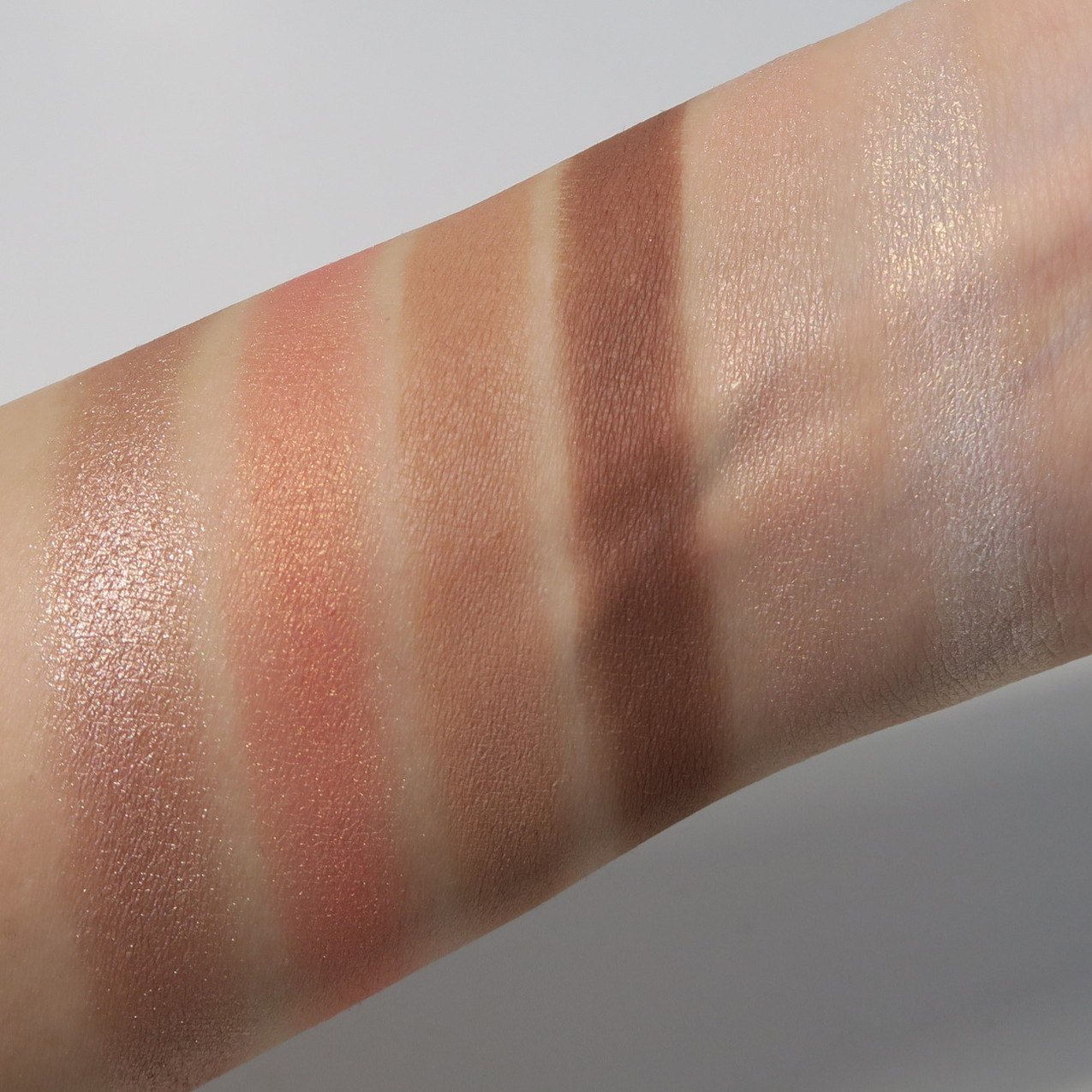 NARS Hyped Palette Swatches