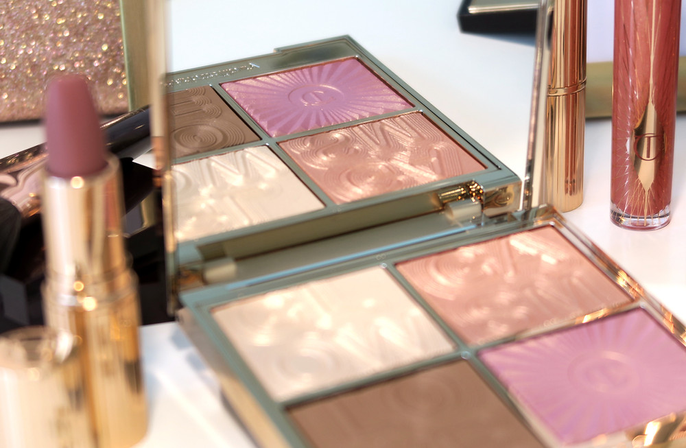 charlotte tilbury glowgasm collection review