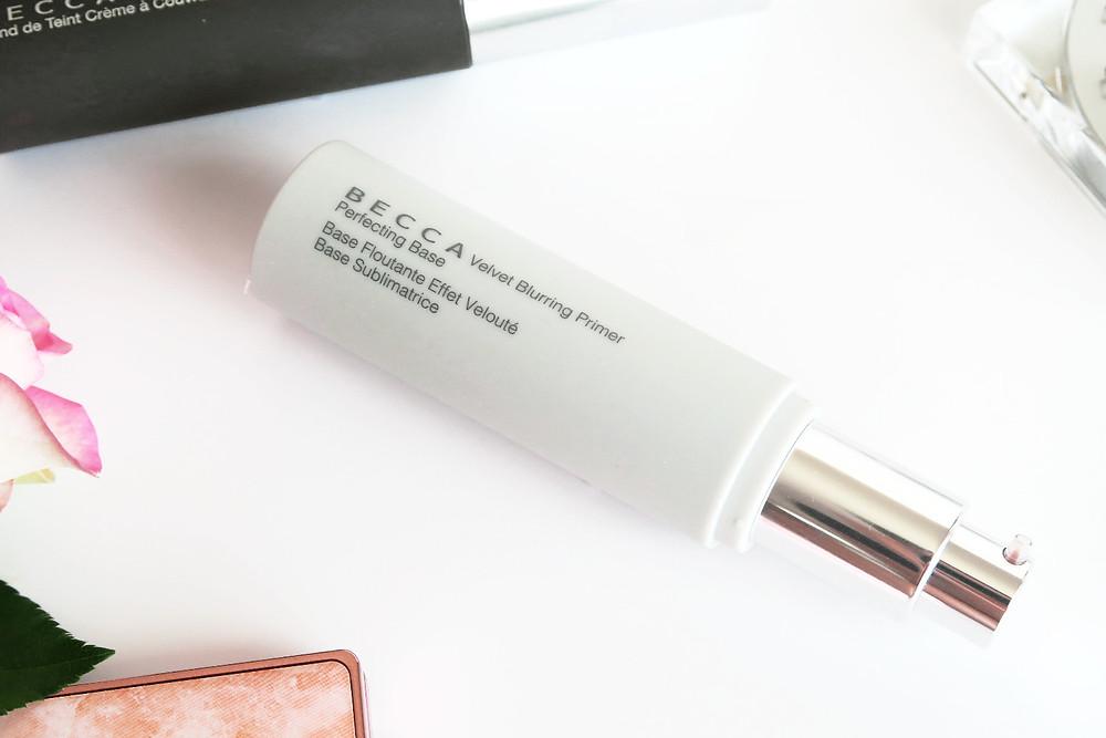 becca cosmetics velvet blurring primer review