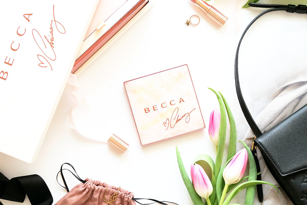 becca chrissy palette review
